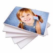 Papel Adesivo Fotográfico 100 Folhas A4 130g Glossy Brilhante - Master