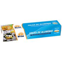 Papel Alumínio 100mx30cm Wyda -