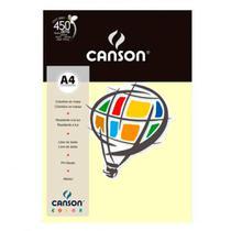 Papel Canson Color A4 180GR 10 Folhas Marfim -