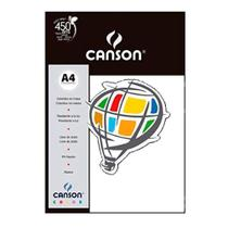 Papel Canson Color A4 c/10fl Branco -