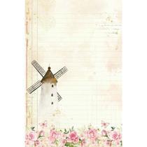 Papel Carta Coleção Mon Monde Rose II - PEC-023 - Litoarte