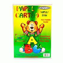 Papel Cartão A-4 Colorido 20Fls Menno -