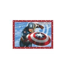 Papel de Arroz Decorativo Capitão América - Festabox