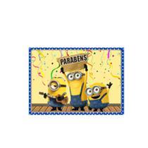 Papel de Arroz Decorativo Minions - Festabox