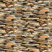 Papel de Parede Autoadesivo Pedra Nature 45CM X 10M - Contact