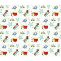 Papel de Parede Contact Decorado 45cm x 10m Boy Toys Plastcover - De Casa Magazine