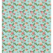 Papel de Parede Contact Decorado 45cm x 10m Flower 4 Plastcover - De Casa Magazine