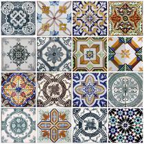 Papel de Parede Cozinha Azulejo Vinílico Lavável - N4677 - Lar Adesivos