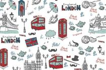 Papel de Parede Decorado Contact Happy London 1m - Contact / Plastcover