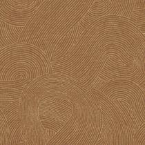 Papel de Parede EZ Benjamin Linhas em Movimento Laranja Metálico GT1303 - Rolo: 10m x 0,53m - Mundi