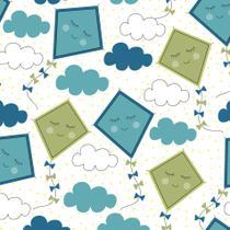 Papel de Parede Infantil Pipa 2,70x0,57m - Quartinhos