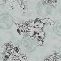 Papel de Parede Marvel Avengers Clássico DY0245 -