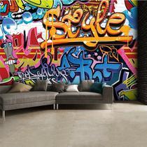 Papel de Parede Painel Fotográfico Graffiti - Edantex