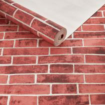 Papel de parede texturizado importado tijolinho 3d detonado - Maya Wallpaper