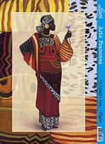 Papel Decoupage Arte Francesa Angolana III AF-027 31,1x21,1cm Litoarte -