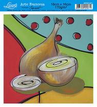 Papel Decoupage Arte Francesa Cebola AFXV-071 - Litoarte -