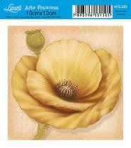Papel Decoupage Arte Francesa Flor AFX-353 - Litoarte -