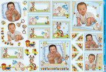 Papel Decoupage Grande Bebe Feliz PD-751 Litoarte -