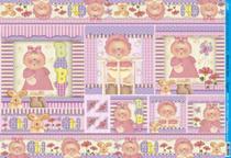 Papel Decoupage Grande Bebe Menina PD-534 Litoarte -