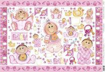 Papel Decoupage Grande Bebê PD-346 Litoarte -
