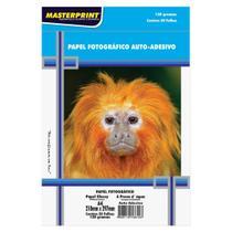 Papel Foto Adesivo  Masterprint A4 130 Gramas 100 Folhas -