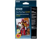 Papel Fotográfico 10x15cm Epson 183g - Value Photo Paper Glossy 100 Folhas