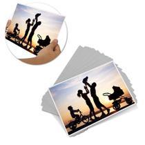 Papel Fotográfico 135g Glossy Adesivo A4 20 Folhas - Nem Compara