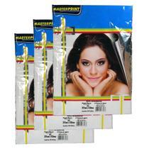 Papel Fotográfico A3 Masterprint 180 Gramas 100 Folhas -