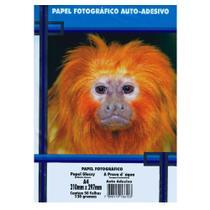 Papel Fotográfico A4 130g PT 50 Folhas A Prova dágua Auto Adesivo - Masterprint -