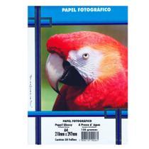 Papel Fotográfico A4 135g PT 50 Folhas A Prova dágua - Masterprint -