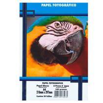 Papel Fotográfico A4 180g PT 50 Folhas A Prova dágua - Masterprint -