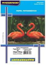 Papel fotográfico adesivo 20 fls 230g Masterprint -