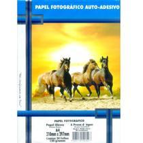 Papel Fotográfico Adesivo A4 130g - Master Print - Masterprint