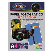 Papel Fotográfico Adesivo A4 135g 20fls Off Paper -