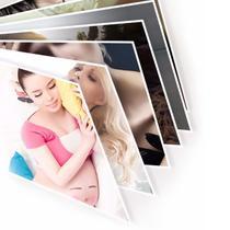 Papel Fotográfico Adesivo Glossy A4 130g Branco Brilhante Resistente à Água / 300 folhas - Premium*