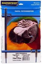 Papel Fotográfico Brilhante A4 - 180gr - 50 Folhas - Masterprint