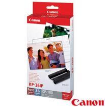 Papel Fotográfico Brilhante Canon KP36IP para Impressoras Fotográficas -