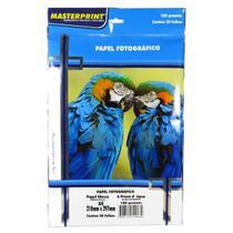 Papel Fotográfico Dupla Face Masterprint A4 180 Gramas 20 Fo -