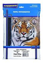 Papel Fotográfico Glossy 230g Pacote c/ 50 folhas - Masterprint