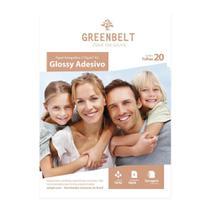 Papel Fotográfico Glossy Adesivo A3 115g Greenbelt 20 folhas -