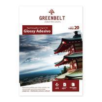 Papel Fotográfico Glossy Adesivo A4 115g Greenbelt 20 folhas -