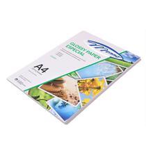 Papel Fotografico Glossy Adesivo A4 130g PT 10 UN Menno -