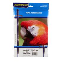 Papel Fotográfico Glossy Masterprint A4 135 Gramas 250 Folha -