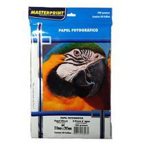 Papel Fotográfico Glossy Masterprint A4 180 Gramas 150 Folha -