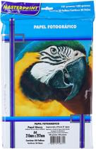 Papel Fotográfico Glossy Masterprint A4 180 Gramas 50 Folhas -