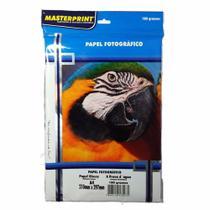 Papel Fotográfico Glossy Masterprint A4 180 Gramas 500 Folha -