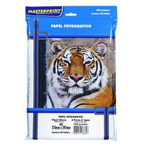 Papel Fotográfico Glossy Masterprint A4 230 Gramas 100 Folha -