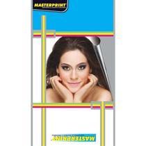 Papel fotografico inkjet a3 glossy adesivo 130g pct.c/20 - Masterprint