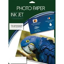 Papel fotografico inkjet a4 glossy adesivo 180g cx.c/50 - Mares