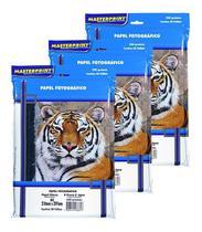 Papel Fotográfico MasterPrint 230 Gramas Glossy 300 Folhas -